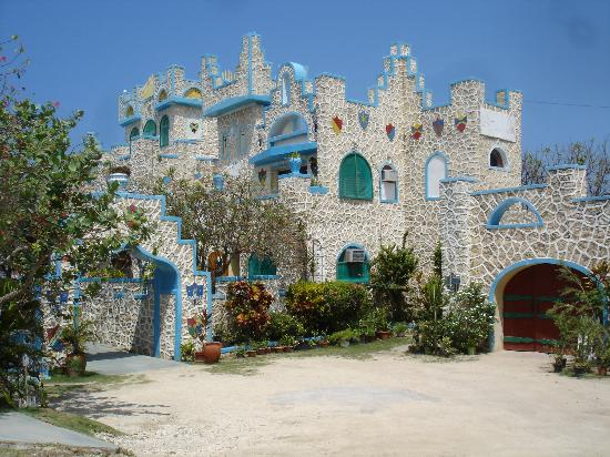 Blue Cave Castle-bild