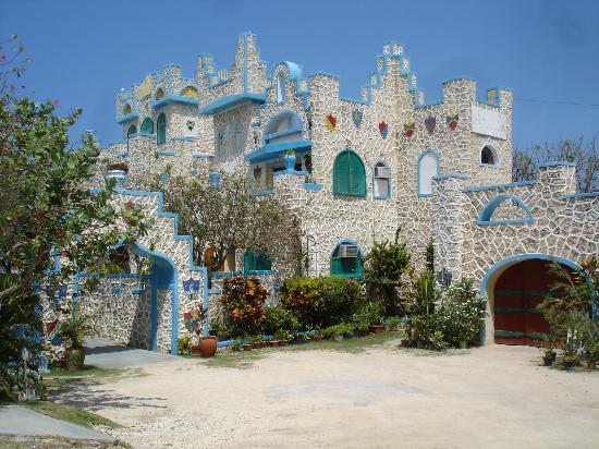 Blue Cave Castle Photo