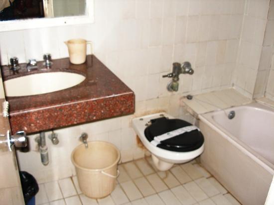 Juhu Hotel Standard Bathroom; Executive Bathroom about the same standard