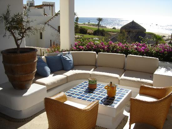 Las Ventanas al Paraiso, A Rosewood Resort : Terrace off our room