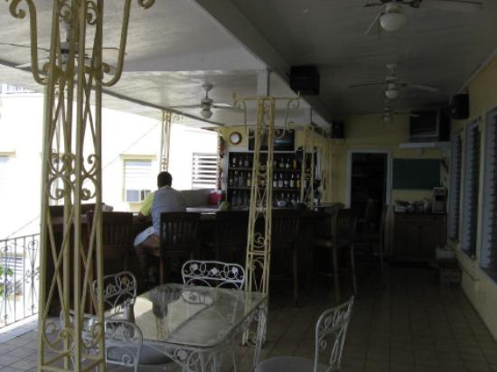 Miller Manor Guest House: Hotel Bar/Dining Room