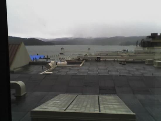 The Coeur d'Alene Resort: View of Boardwalk