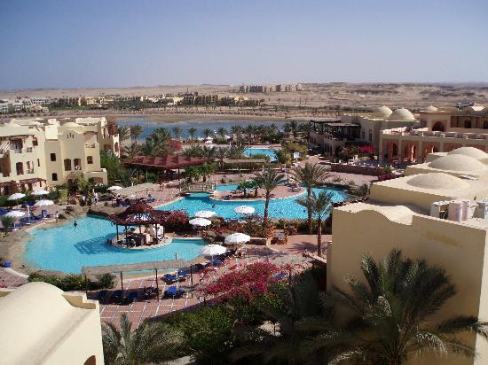 Steigenberger Coraya Beach: The wonderful hotel, from view point
