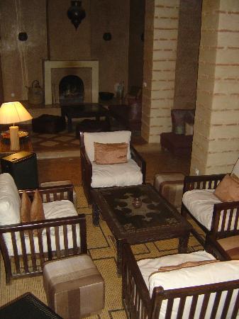 Riad l'Orangeraie: lounge area