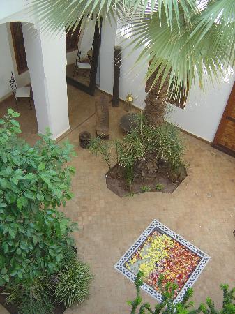 Riad l'Orangeraie: courtyard