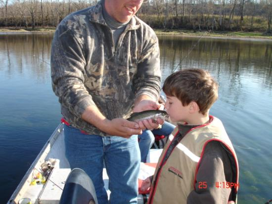 Stone Creek Ranch Resort : Guided trout fishing trip
