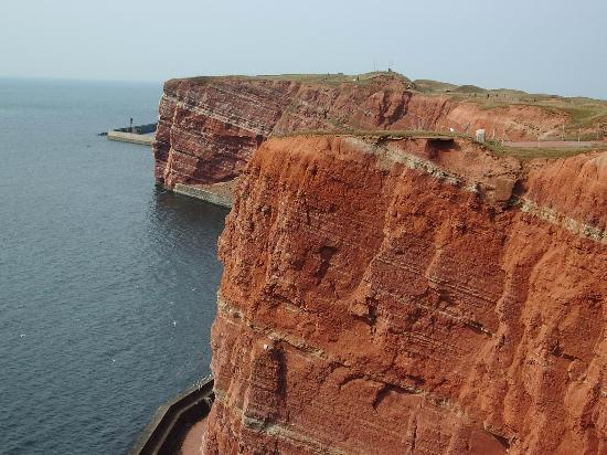 Helgoland, Alemania: The Cliffs