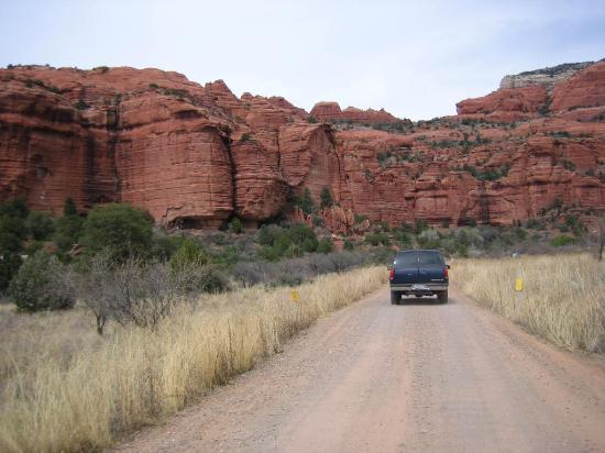 Junipine Resort: Sedona's primitive road