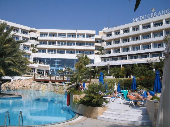 Pool Area Picture Of Mediterranean Beach Hotel Limassol