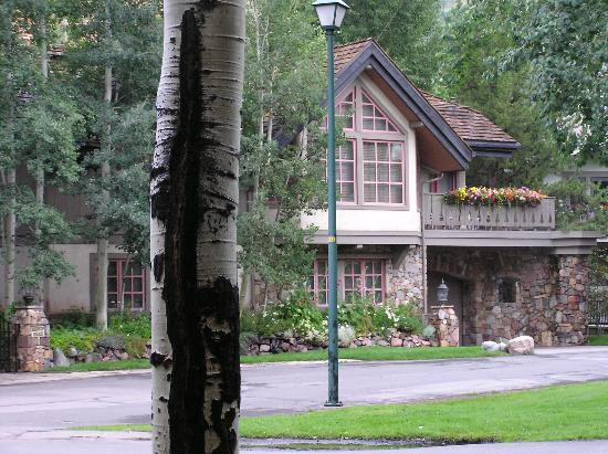Willows Condominiums at Vail: Looking accross the street