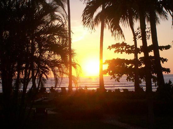 Hotel Tamarindo Diria: tamarindo sunset