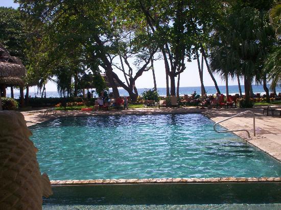Hotel Tamarindo Diria: view from the lobby