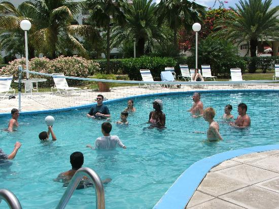 Pool volleyball picture of jolly beach resort spa - Pool volleyball ...
