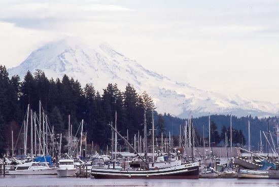 Gig Harbor Mt Rainier