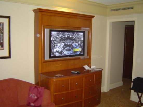 Conrad Indianapolis: The TV in the Bedroom
