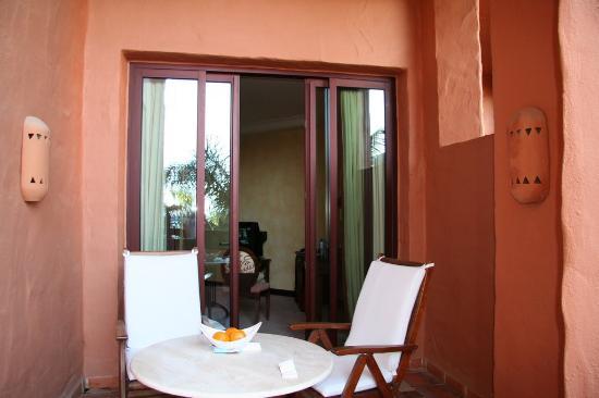 Kempinski Hotel Bahia: Balcony normal room level 4
