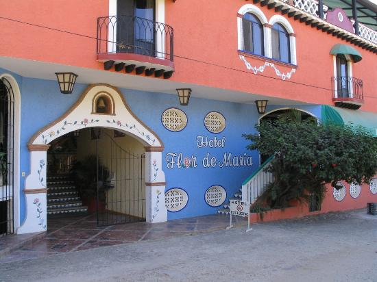 Hotel Flor de Maria: Common entrance