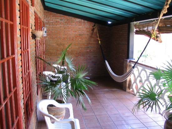 Balcony hammock picture of hotel flor de maria puerto for Balcony hammock
