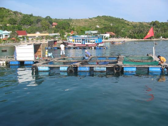 Fishing village near Nha Trang