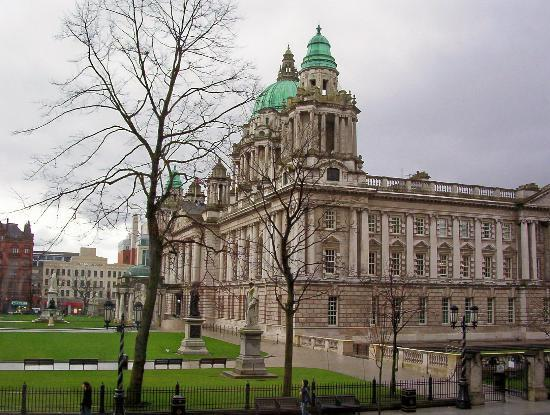 ‪بيلفاست, UK: City Hall, Belfast.‬