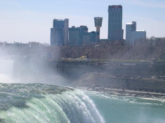 Niagara Falls Marriott Fallsview Hotel Spa From American Side