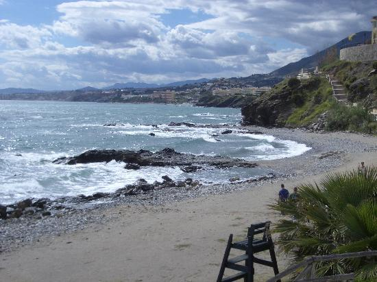 THB Torrequebrada Hotel: The western beach