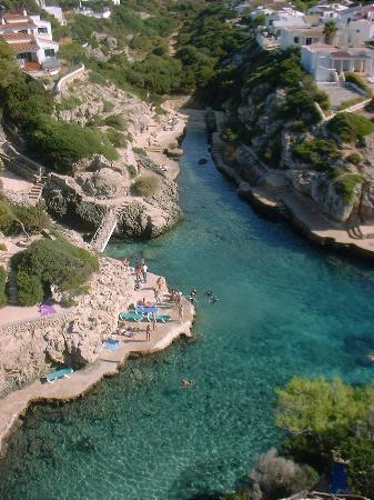 Cala'n Forcat, Spain: A great view from our balcony!
