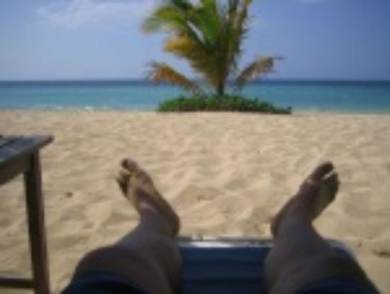 Jamaica Inn: Private beach is never crowded