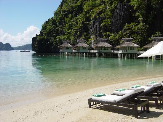El Nido Resorts Miniloc Island: Shot from the beach