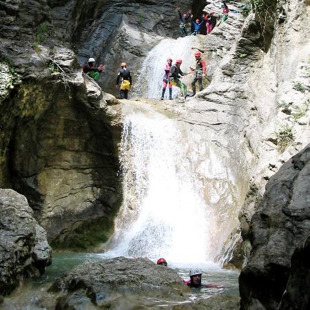 Cascia, Italia: canyoning