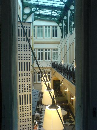 Elite Plaza Hotel Goteborg: View from my single room on 2nd floor