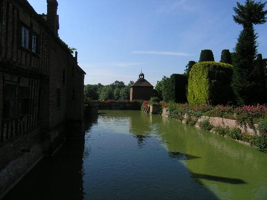 Long Melford, UK: the moat