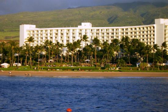Westin Maui Resort And Spa: Hotel from the water