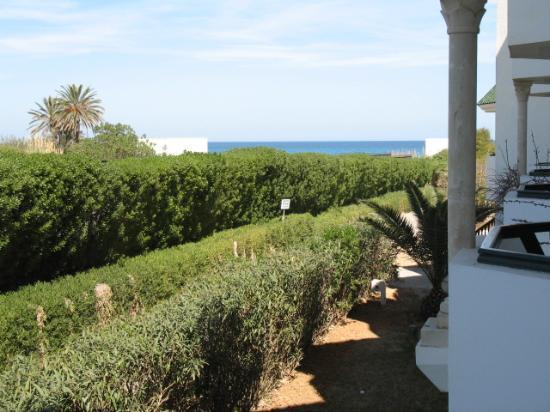 Vincci El Mansour: view from hoel room balcony
