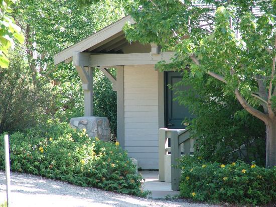 Julian, Kaliforniya: cottage entrance