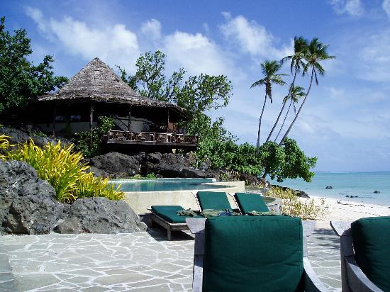 Pacific Resort Aitutaki: Infinity pool