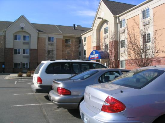 Candlewood Suites Minneapolis - Richfield : Partial shot#1 of front of hotel