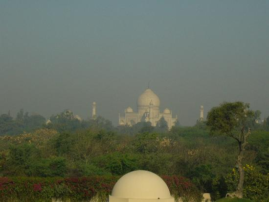 The Oberoi Amarvilas: the view from our room