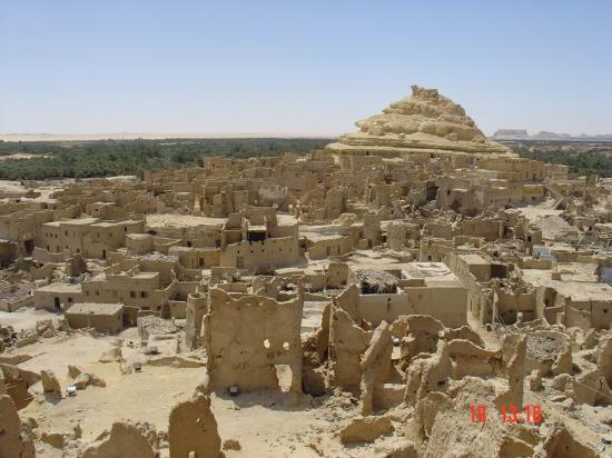 Shali Fortress: view from the top of Shali