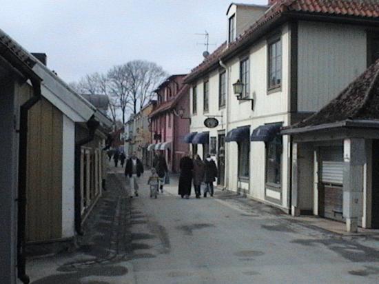 Sigtuna Stadshotell: Sigtuna Main street