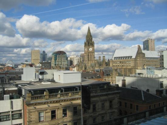 Radisson Blu Edwardian Manchester: View from our room - great