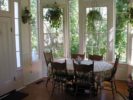 Nevada City, Californien: Breakfast room WOW