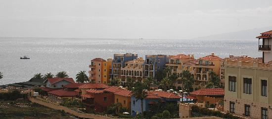 Bahia Principe Costa Adeje: The Costa Adeje taken from the Tenerife Hotel