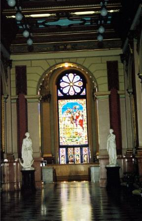 Masonic Temple: Stainded Glass Window