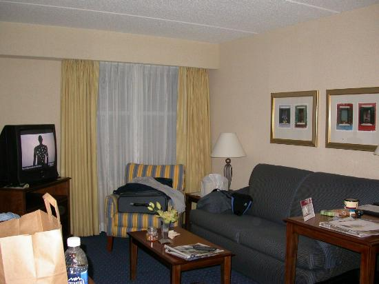 Residence Inn by Marriott Chesapeake Greenbrier: LIVING AREA