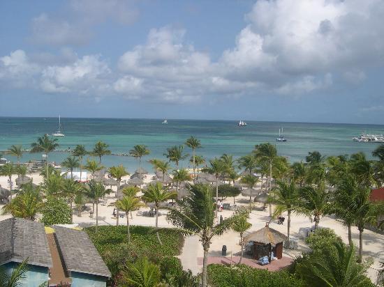 Marriott's Aruba Surf Club: A view from the Surf Club