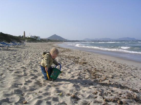 Eden Playa beach April