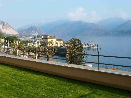 Stresa, Italien: Lake view from Residence Hotel