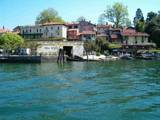 Στρέσα, Ιταλία: Isola Bella from boat