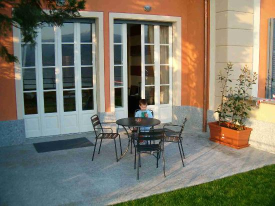 Stresa, Italy: Our appartment's terrace